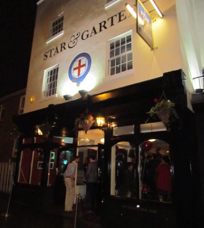 The opening night of Peach Pubs Star and Garter Leamington spa.
