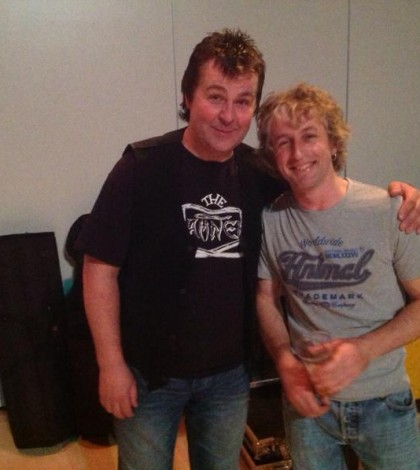 Sharks in Italy interview back stage at the ray porter memorial gig – Stratford