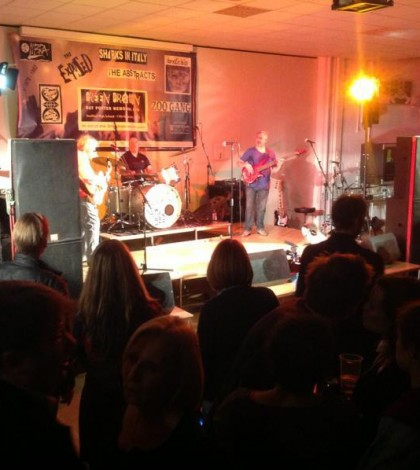 The Abstract -playing at the Ray PorteR gig Stratford
