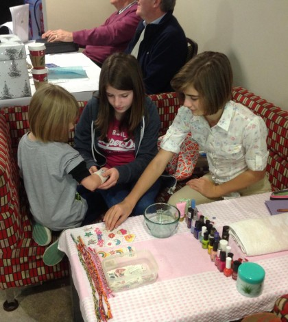 Radio Warwickshire interview young business girls from #kenilworth who have set up a nail art business calles Lysi-Lu