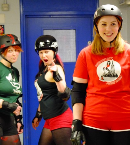 Coventry City Derby Dolls Practice Session