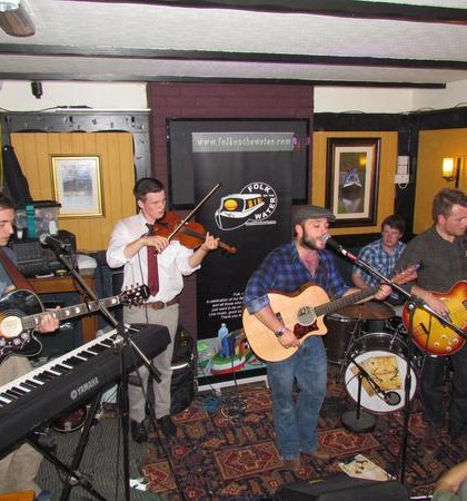 Listen to the details about this years Folk on the Water Festival