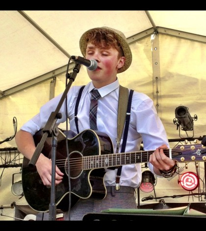 George Wilson – LIVE at the Welfest Festival -Stratford 2013