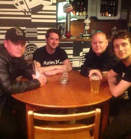 Interview with The SixtyFours before they go on stage at Leamington LAMP tonight