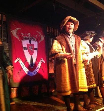 Coombe Abbey – medieval banquet performance 1
