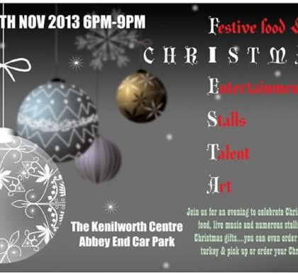 Interview with Sarah Abellan organiser of the Christmas Fiesta to be held on Saturday 30th November at The kenilworth Centre 6-9pm