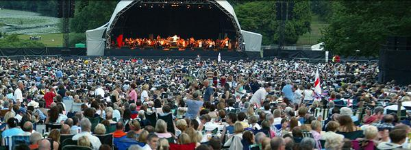 Interview with Andrew Wyke Producer of Warwick Castle Proms 2014