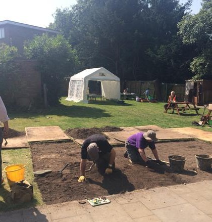 Interview with Peter Thompson Senior Archaeologist  at St Johns dig Warwick