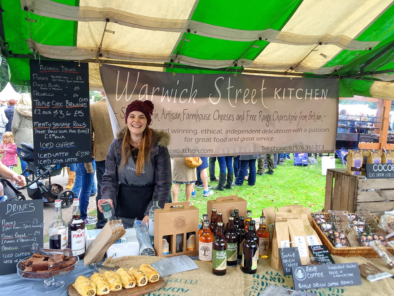 The Leamington Spa Food and Drink Festival 2015 – Day 1