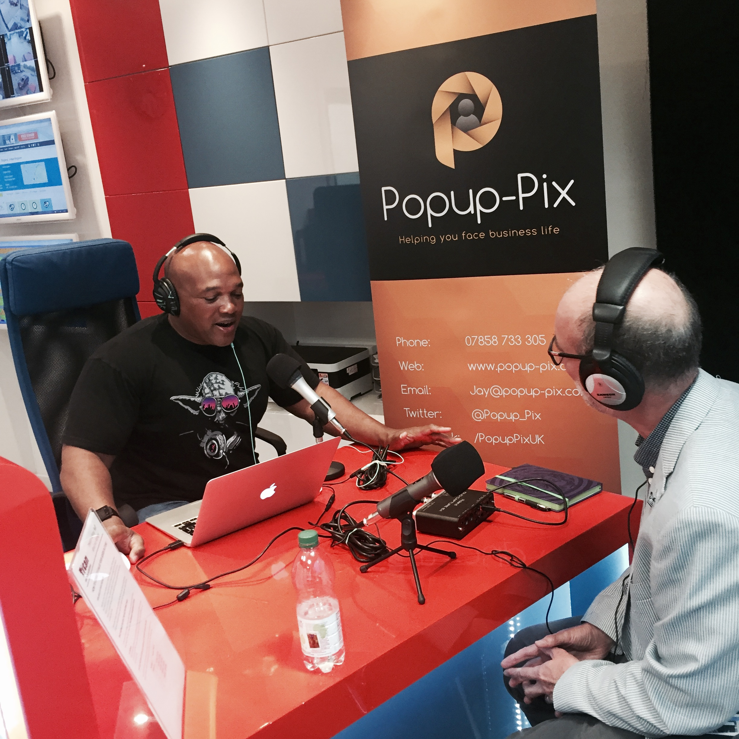 Pop-up Social Radio at Leamington Hour Live