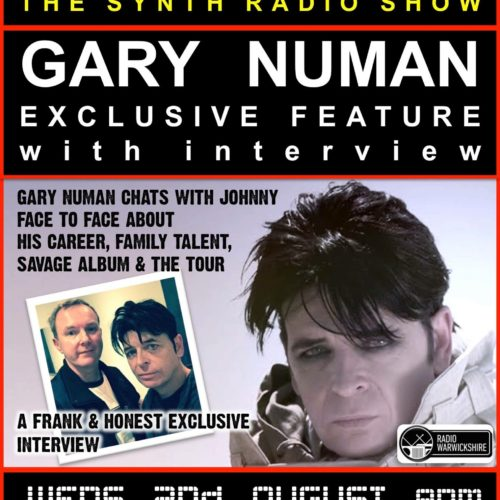 RW098 THE JOHNNY NORMAL RADIO SHOW – THE GARY NUMAN INTERVIEW SPECIAL