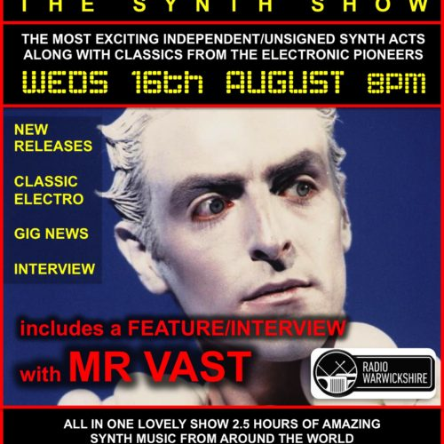 RW099 – THE JOHNNY NORMAL SYNTH RADIO SHOW – 16TH AUG 2017