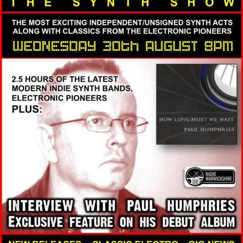RW101 – THE JOHNNY NORMAL SYNTH RADIO SHOW – 30 AUG 2017
