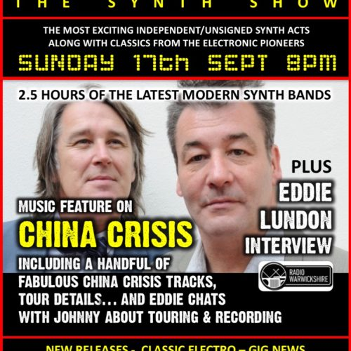 RW103 – THE JOHNNY NORMAL RADIO SHOW – 'CHINA CRISIS SPECIAL'