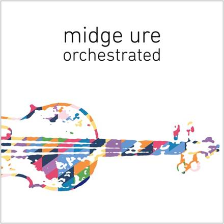 3. Midge Ure 'Orchestrated' sleeve
